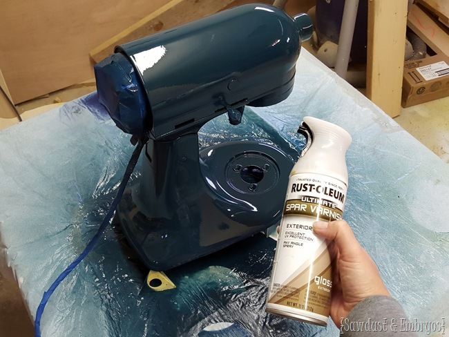 How To Paint Your Kitchen Aid Mixer And Have It Look Professional And  Perfect! {