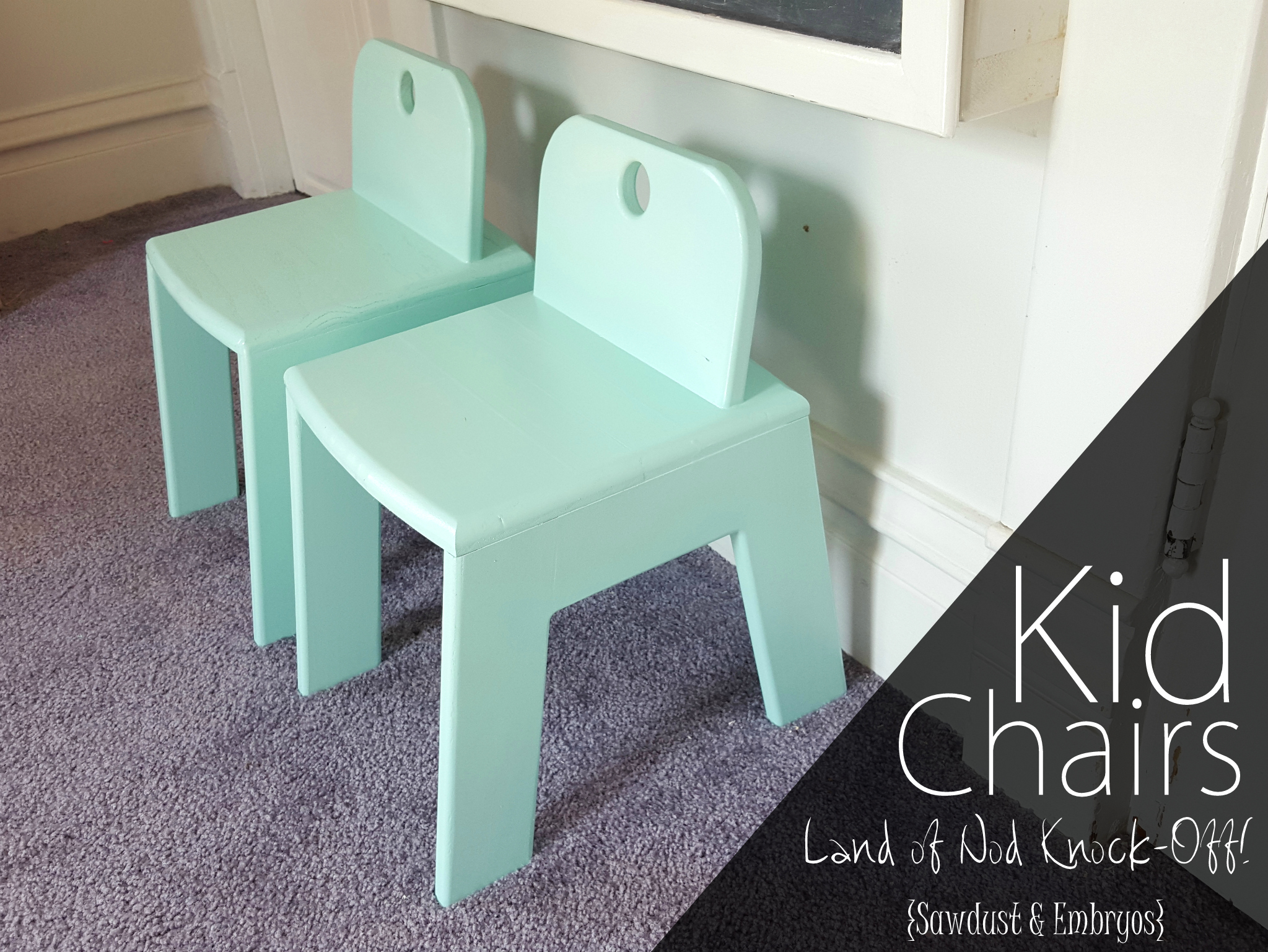 Kids Chairs Sawdust And Embryos