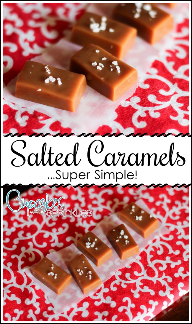 Deeeelicious Salted Caramel Recipe... surprisingly simple!