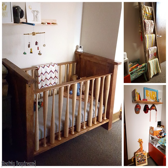 DIY Baby Crib... With BASEBALL BATS as the rungs! (Reality Daydream)