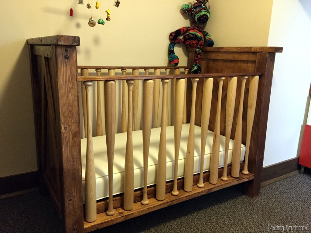 Charmant Baseball Bat Crib Finishing