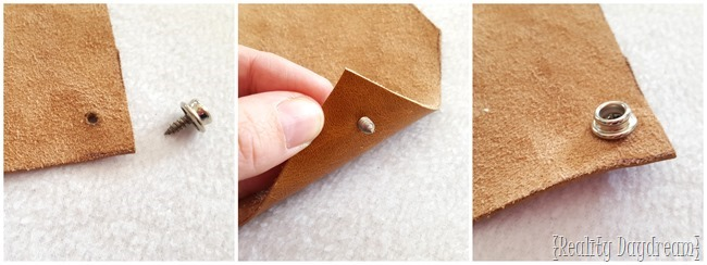 How to add a snap to leather (Reality Daydream)