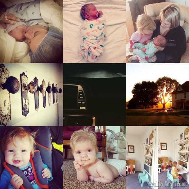 Top 9 posts on Instagram {Reality Daydream}