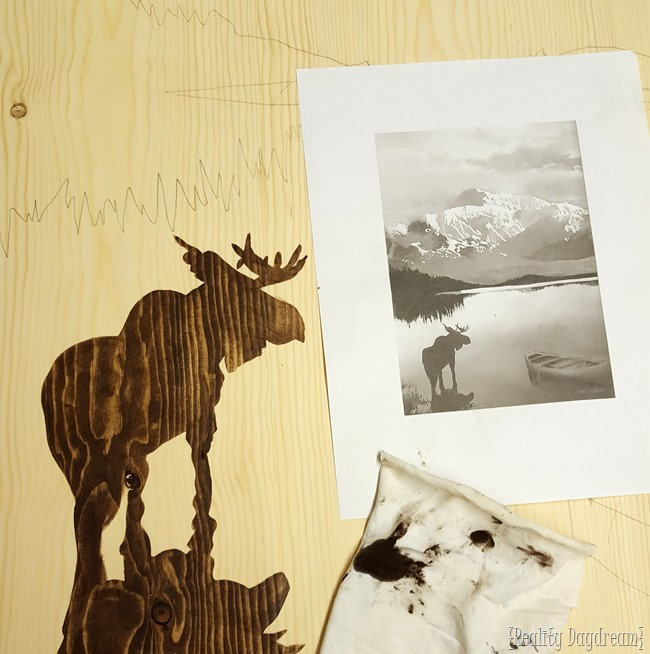 Use Wood Stain to create Gorgeous Art! {Reality Daydream}