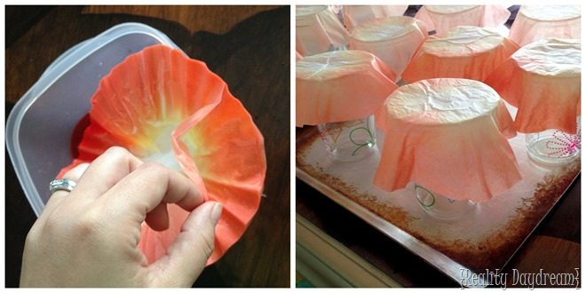 Use coffee filters to make poppies! {Reality Daydream}