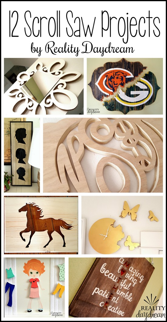 12 Creative Scroll Saw Projects! {Reality Daydream}