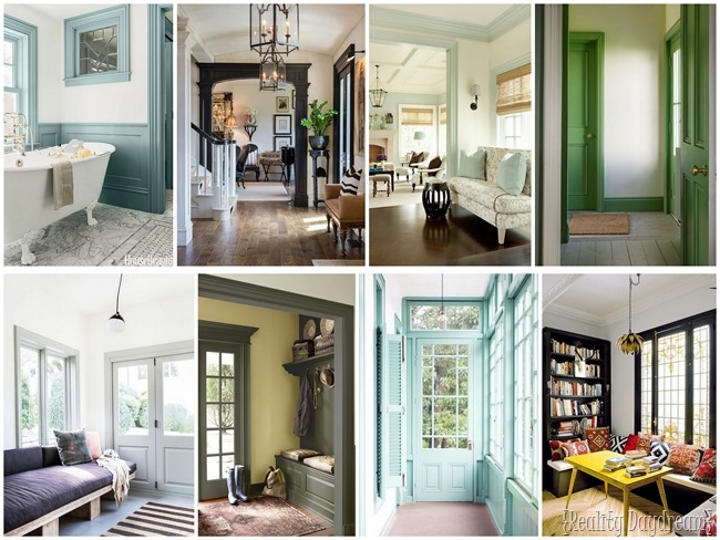 Colored trim inspiration! {Reality Daydream}