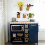 Custom DIY Rolling Kitchen Island