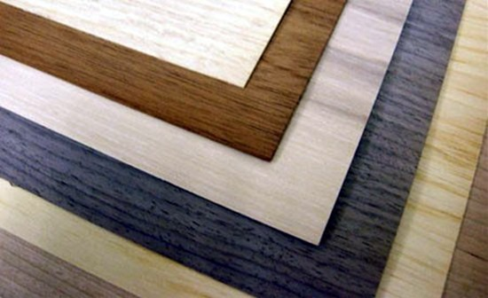 Laminate samples. Laminate is NOT real wood - just plastic printed to LOOK like wood.  {Reality Daydream}