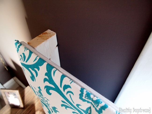 How to affix your headboard in front of a window (Reality Daydream)