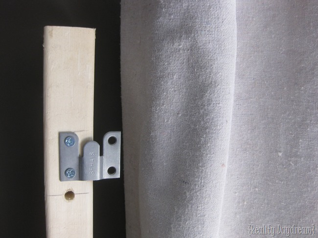 How to affix your headboard in front of a window using flush mount hardware