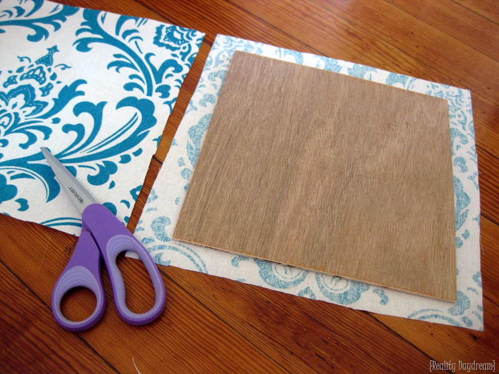 How To Make A Simple DIY Upholstered Headboard... The Cheater Way! {