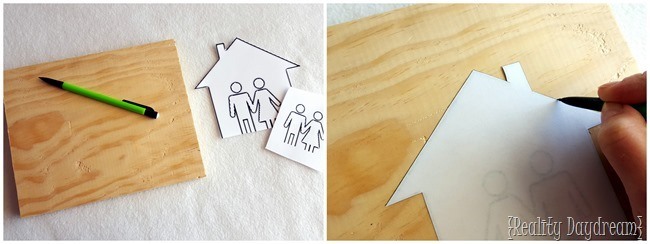 Make your own custom his-hers key chair rack {Reality Daydream}