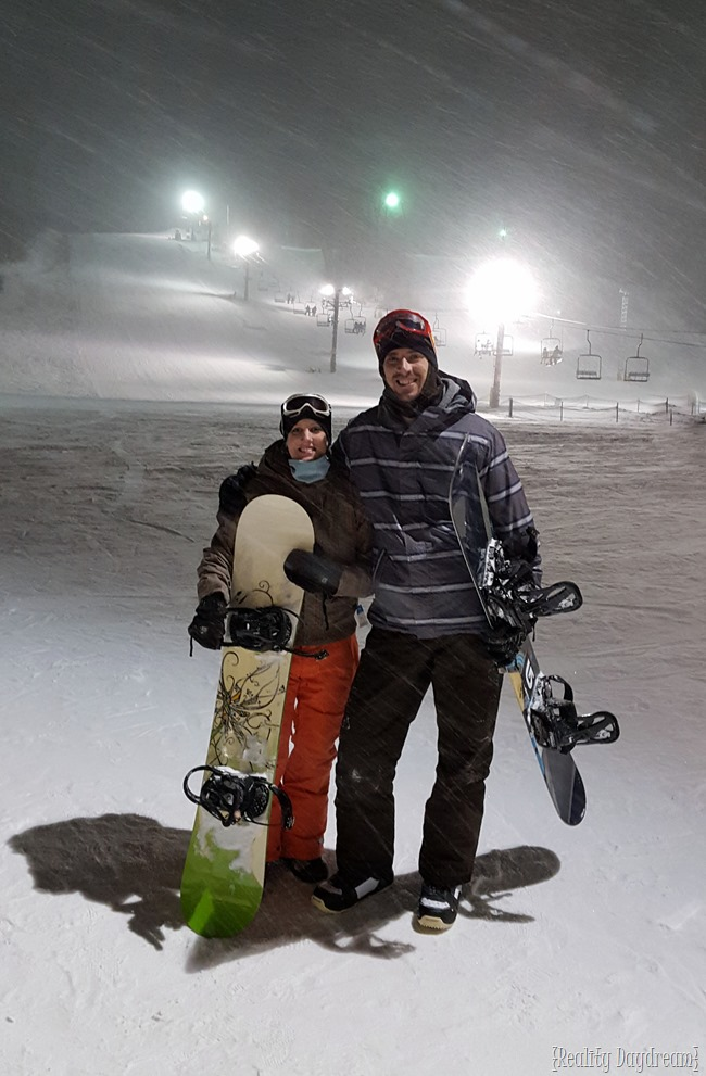 Nick and Beth Snowboarding! {Reality Daydream}