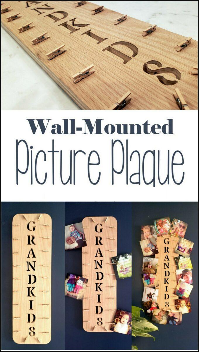 Scroll Saw Ideas - Personalized Picture Plaque!