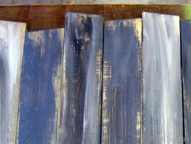 Super simple tutorial for making NEW wood look OLD ....and with any tint you can imagine! {Reality Daydream}