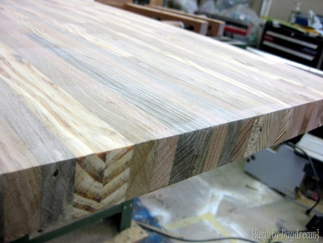 Building Your Own Butcher Block Counter