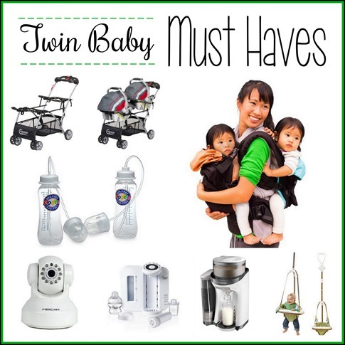 Lots of must-have items for twin babies and their mamas! {Reality Daydream}