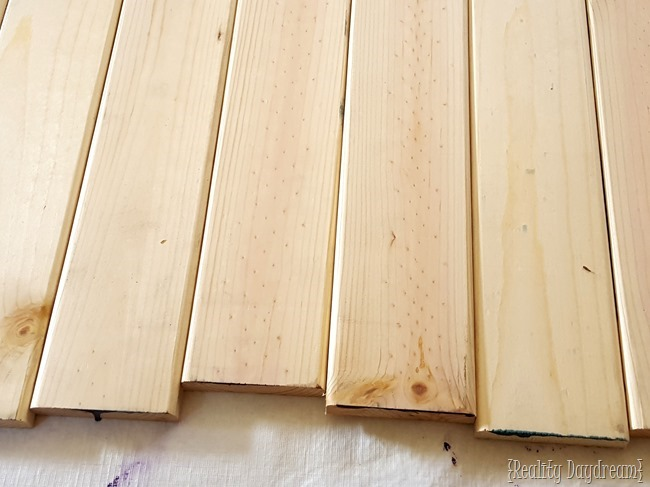 How To Make Distressed Wood Barn Boards From New Wood