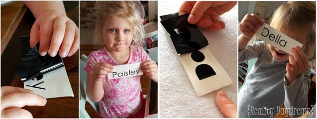 Using a silhouette to cut vinyl and personalize Kids Activity Pad {Reality Daydream}