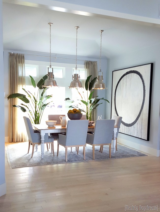 Dining Room of the HGTV Dream Home {Reality Daydream}