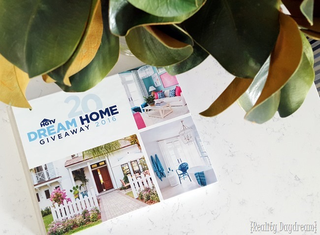 HGTV Dream Home Reveal {Reality Daydream}