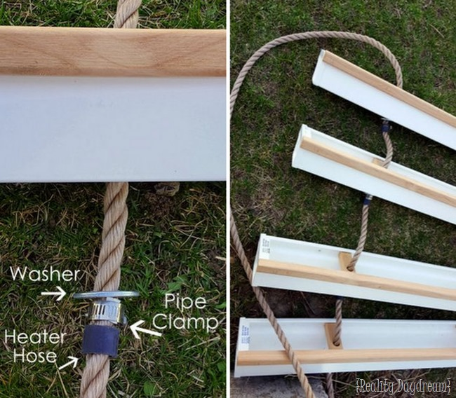 Make a Hanging Gutter Planter {Reality Daydream}