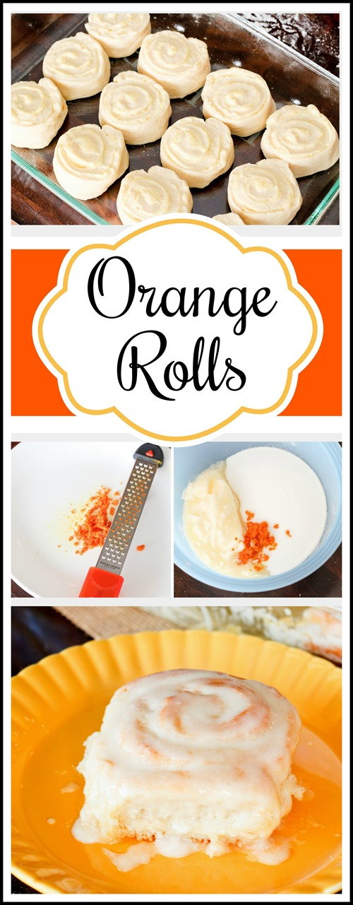 Ooey Gooey ORANGE ROLLS!!