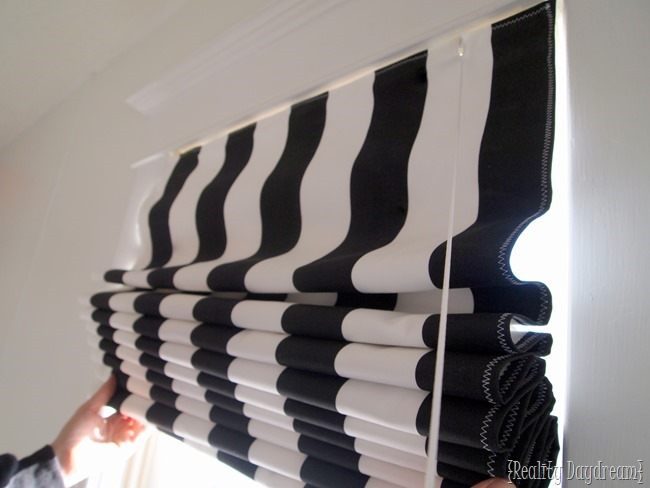 How To Make Diy Roman Shades Using Mini Blinds Reality