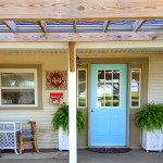 Porch Happenings and Front Door Paint
