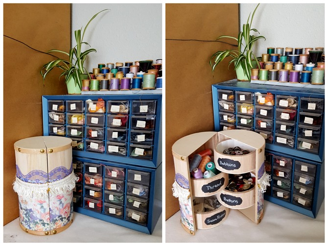 Makeover this unfinished wooden trinket boxes for so many organizational uses! {Reality Daydream}