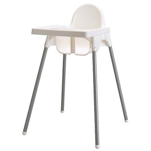 Minimalist highchair that's affordable and easy to clean!
