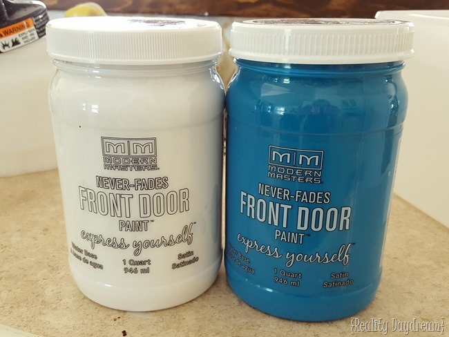 Modern Masters Front Door Paint {Reality Daydream}