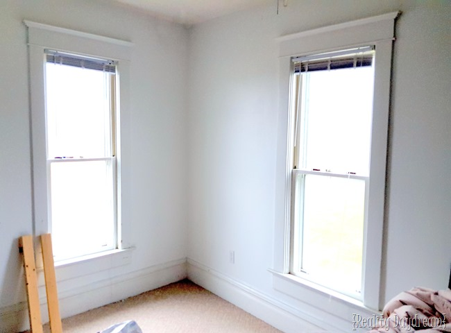 Paint a dark room white! {Reality Daydream}
