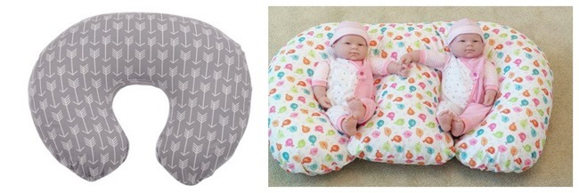The Boppy and TwinZ Pillow are life-savers for twin parents.