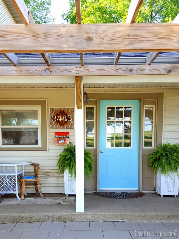 Front Door and Porch Goals {Reality Daydream}