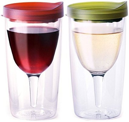 Must-Haves for camping with kids and babies {Reality Daydream} Portable Camping Wine Glasses