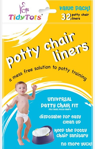 Must-Haves for camping with kids and babies - potty chair liners