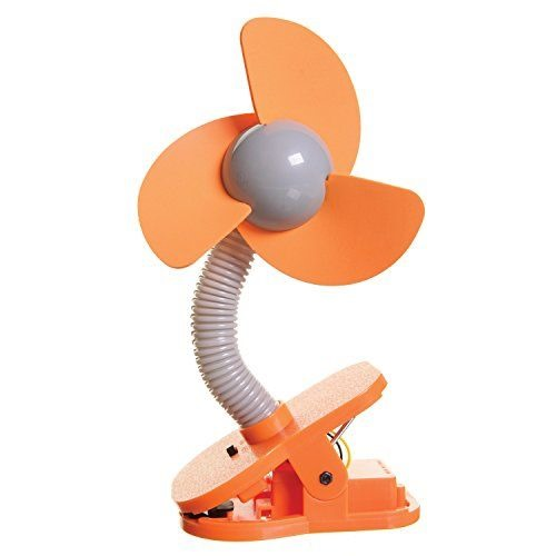 Must-haves for camping with kids and babies - Clip on fan