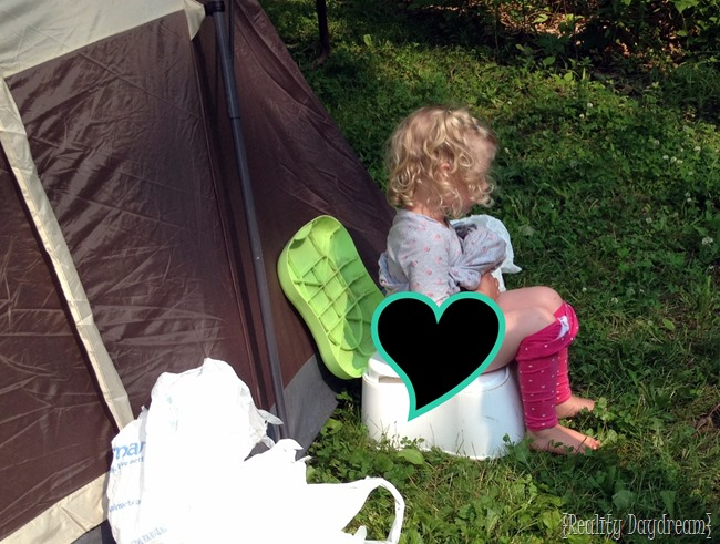 Camping must-haves- Potty Chair