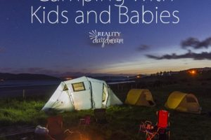 Products and Tips for Tent Camping with Babies