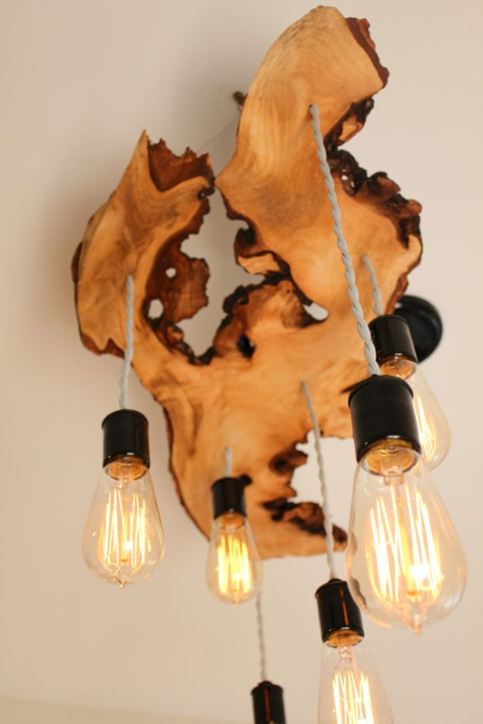 Beautiful ways to incorporate live edge elements into interior design #wood