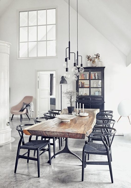 Beautiful ways to incorporate live edge elements into your decor