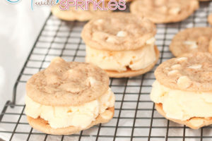 Churro Cookie Ice Cream Sandwiches 1