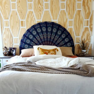 How To Mount A Headboard Over A Window Reality Daydream