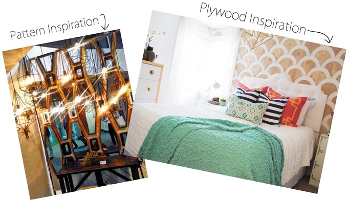 Inspiration for DIY Plywood Accent Wall {Reality Daydream}