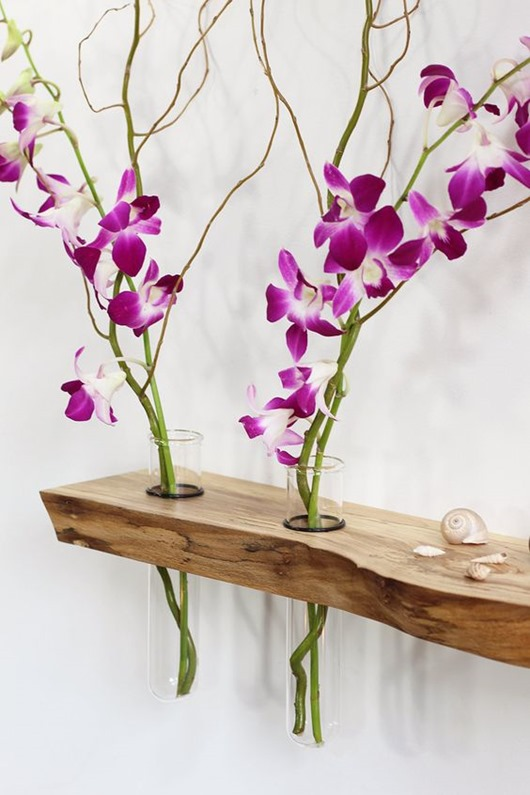 Lots of beutiful examples of Live Edge elements in home decor