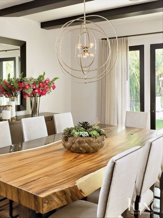 Round up of gorgeous 'Live Edge' elements in interior design