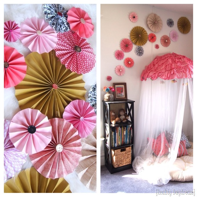 DIY Pinwheel Collage {Reality Daydream}