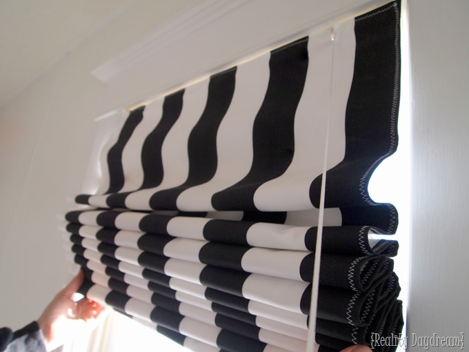 DIY Roman Shades ~ using your existing mini-blinds! - Reality Daydream